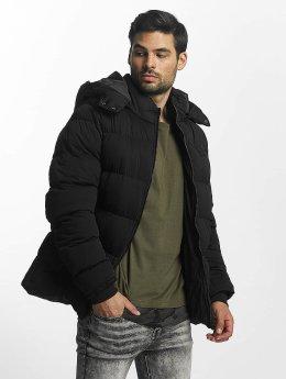 Urban Classics Puffer Jacket Hooded Boxy Puffer schwarz