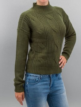 Urban Classics Pullover Ladies Short Turtleneck olive