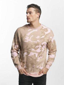 Urban Classics Pullover Camo rosa