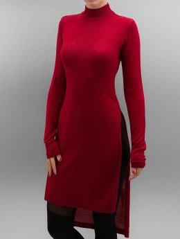 Urban Classics Pullover Ladies Fine Knit Turtleneck rot