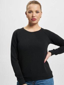 Urban Classics Pullover Stripe Quilt Raglan schwarz