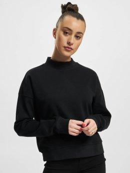 Urban Classics Pullover Short Interlock schwarz