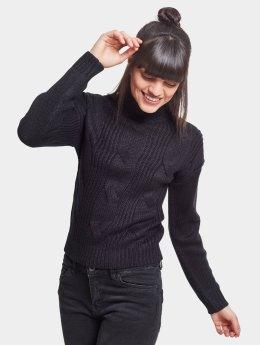 Urban Classics Pullover Ladies Short Turtleneck schwarz