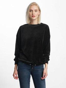 Urban Classics Pullover Oversized Velvet schwarz