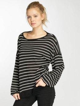 Urban Classics Pullover Oversize Stripe schwarz