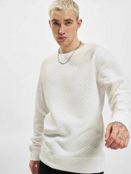 Urban Classics Pullover Diamond Quilt weiß