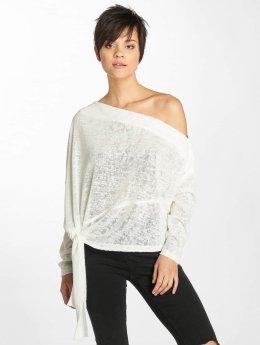 Urban Classics Pullover Asymmetric weiß