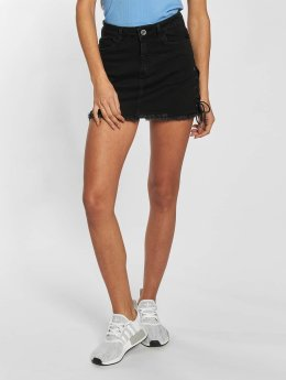 Urban Classics Rock Lace Up Denim schwarz