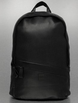 Urban Classics Rucksack Perforated Leather Imitation schwarz