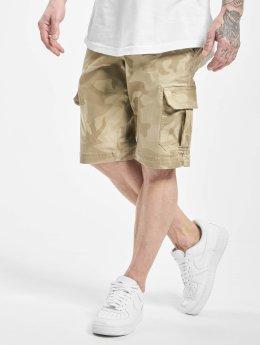 Urban Classics Short Camo Cargo beige