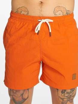Urban Classics Short de bain Block orange