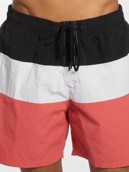 Urban Classics Short de bain Color Block rose
