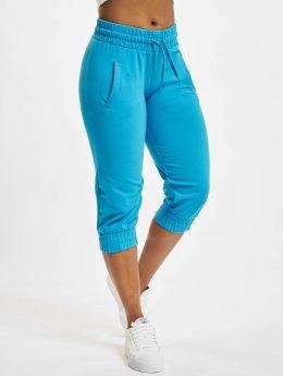 Urban Classics Short Ladies French Terry Capri turquoise