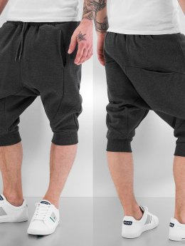 Urban Classics Shorts Deep Crotch grau
