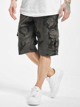 Urban Classics Shorts Camo Cargo  grau