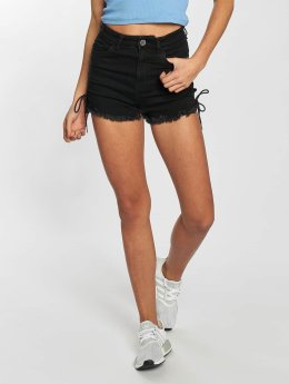 Urban Classics Shorts Lace Up Highwaist schwarz