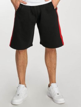 Urban Classics Shorts Stripe Sweat schwarz