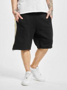 Urban Classics Shortsit Stripe Sweat musta