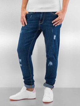 Urban Classics Skinny Jeans Ripped Denim blue