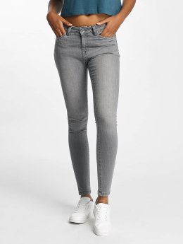 Urban Classics Skinny Jeans Skinny Denim grau