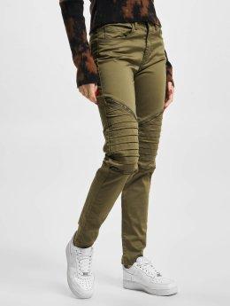 Urban Classics Skinny Jeans Stretch olive