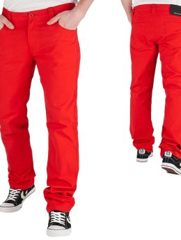 Urban Classics Skinny Jeans 5 Pocket rot