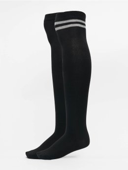 Urban Classics Socken Overknee schwarz