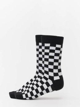Urban Classics Sokken 2-Pack Checker zwart