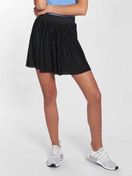 Urban Classics Spódniczki Jersey Pleated czarny
