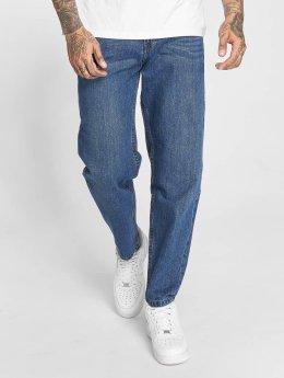 Urban Classics Spodnie Baggy Denim niebieski