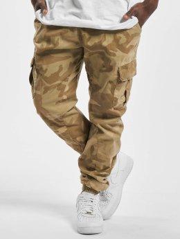 Urban Classics Spodnie Chino/Cargo Camo bezowy