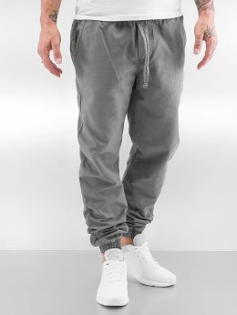 Urban Classics Spodnie do joggingu Washed Canvas szary