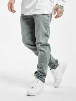 Urban Classics Straight Fit Jeans Stretch Denim grå