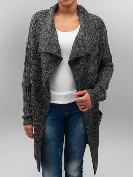 Urban Classics Strickjacke Knitted grau