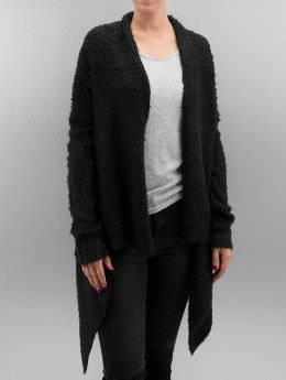 Urban Classics Strickjacke Ladies Knit Feather schwarz