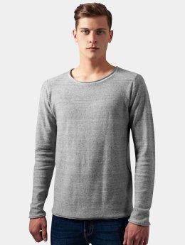 Urban Classics Sweat & Pull Fine Knit gris
