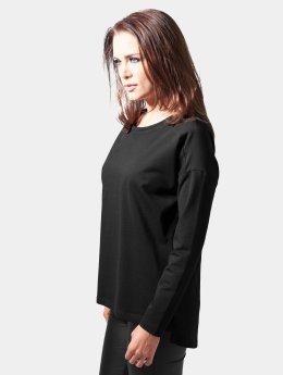 Urban Classics Sweat & Pull Ladies Oversize Chiffon noir