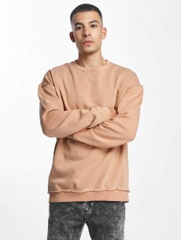 Urban Classics Sweat & Pull Oversized Open Edge rose