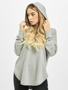 Urban Classics Sweat capuche Ladies Oversized Terry gris