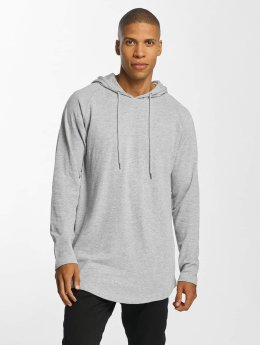 Urban Classics Sweat capuche Long Shaped Terry gris
