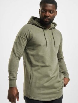 Urban Classics Sweat capuche Long Shaped olive