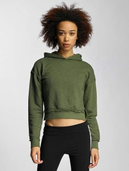 Urban Classics | Ladies Slub Terry olive Femme Sweat capuche