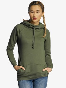 Urban Classics Sweat capuche Ladies High Neck olive