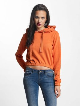 Urban Classics | Interlock Short  orange Femme Sweat capuche