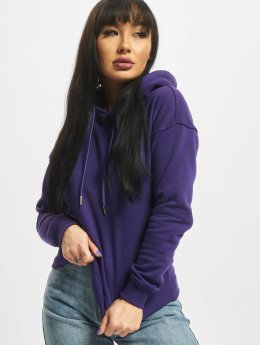 Urban Classics Sweat capuche Ladies pourpre