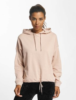Urban Classics Sweat capuche Oversized Gathering rose