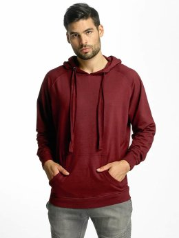 Urban Classics Sweat capuche Garment rouge