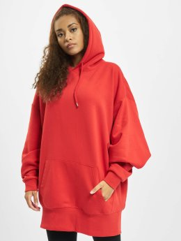 Urban Classics Sweat capuche Long Oversize rouge