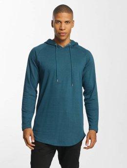 Urban Classics Sweat capuche Long Shaped Terry turquoise