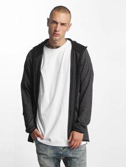 Urban Classics Sweat capuche zippé Active Melange gris